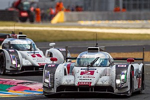 Le Mans Breaking news Three Audi R18 e-tron quattro cars at Le Mans