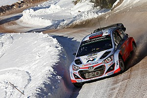 WRC Race report Hyundai Motorsport takes spectacular podium as Neuville claims 2nd in Sweden