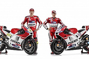 MotoGP Breaking news Ducati unveils new GP15 machine in online presentation