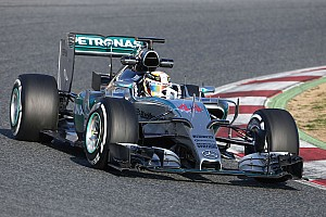 Formula 1 Testing report Hamilton hits a century on day three at the Circuit de Barcelona-Catalunya
