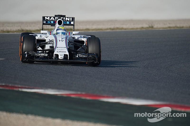 Massa feliz por la fiabiilidad de Williams