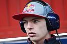 Verstappen se ilusiona con el ritmo de Toro Rosso