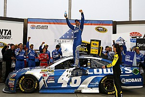 NASCAR Cup Race report Johnson collects first win of 2015 at Atlanta