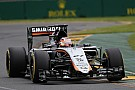 Sahara Force India will line up in P14 and P15 for tomorrow's Australian GP
