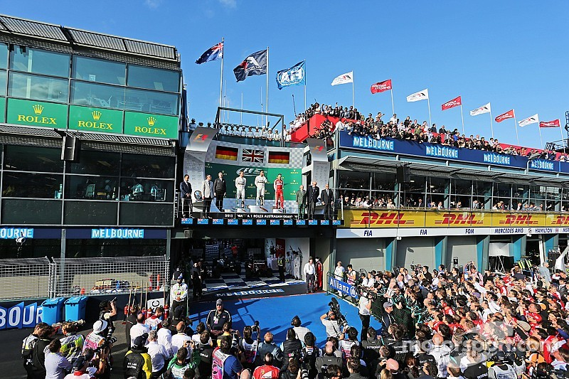 Australian GP race results: Hamilton reigns in the season opening race
