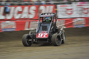 World of Outlaws Race report Rico Abreu scores decisive win over Outlaws at Thunderbowl Raceway