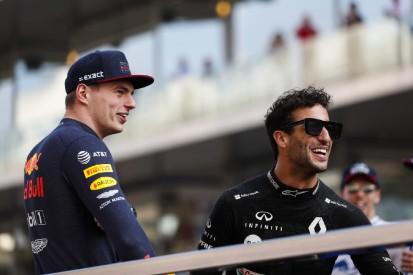 Verstappen: Ricciardo ist noch immer einer der Schnellsten in der Formel 1