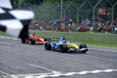 Imola 2005: Alonsos Lehrstunde für Michael Schumacher