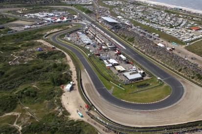 Formel-1-Liveticker: Feuer in Zandvoort! Reifenstapel in Flammen