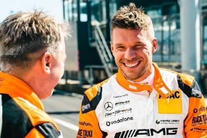 Test im GT3-Rennwagen: Fußballer Lukas Podolski vor Wechsel in den Motorsport?