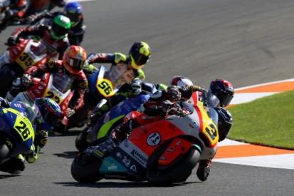 Saisonfinale der Moto2-EM: Tulovic enttäuscht, Aegerter auf dem Podest