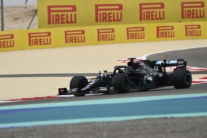 """Hamilton über Pirelli-Prototypen: """"Muss mich zusammenreißen, nichts zu sagen"""""""