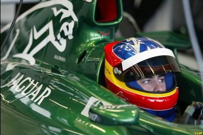 Alonso Tests for Jaguar