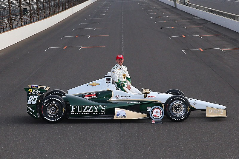 Ed Carpenter encore en pole à Indianapolis