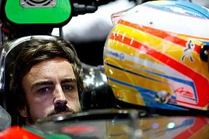 Formula 1 Breaking news Alonso enjoys 'good' day in McLaren simulator