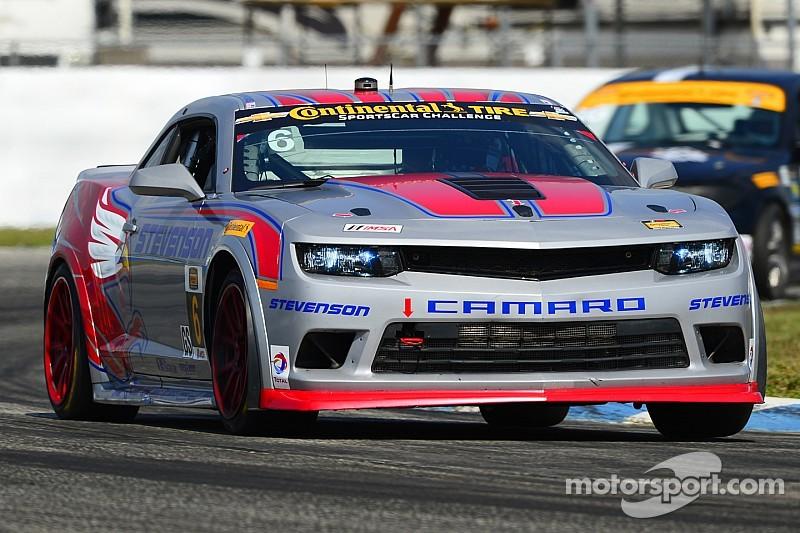 Front-Row sweep for Stevenson Motorsports Camaros