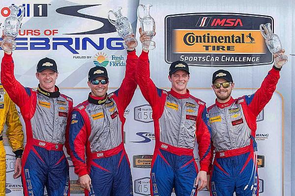Stevenson Camaros dominate CTSCC at Sebring