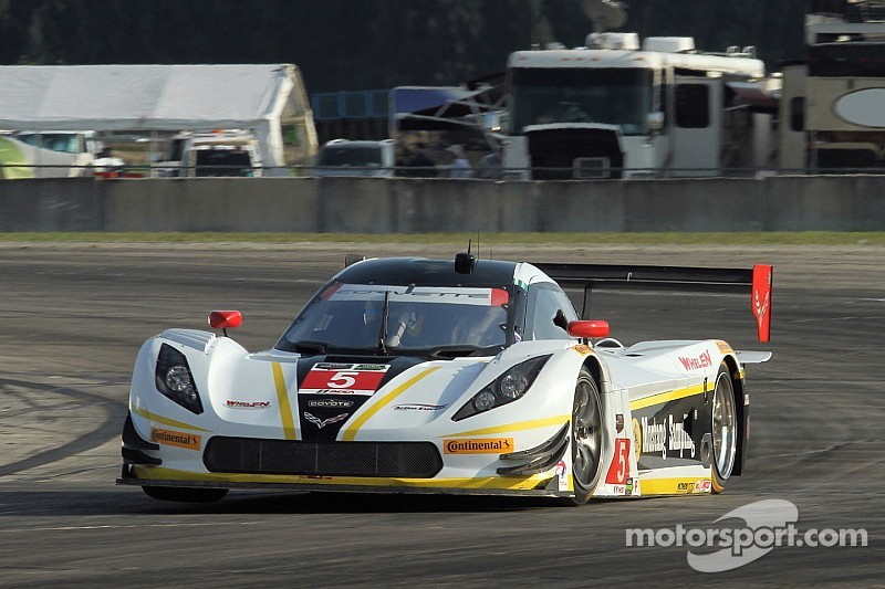 Three hours into Sebring 12, Action Express leads DP trio