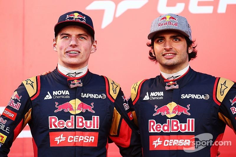 Sainz et Verstappen écrivent déjà l'histoire chez Toro Rosso