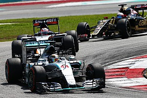 Formula 1 Race report Double podium for Mercedes in enthralling Malaysian GP
