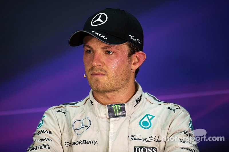 """Coulthard: Rosberg is showing """"worrying signs"""""""