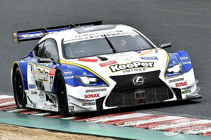 Caldarelli/Hirakawa take pole for Super GT opener