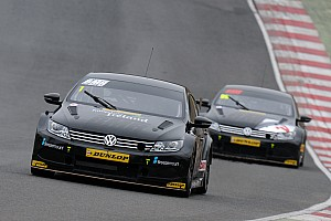 BTCC Practice report Turkington leads BMR charge in second practice