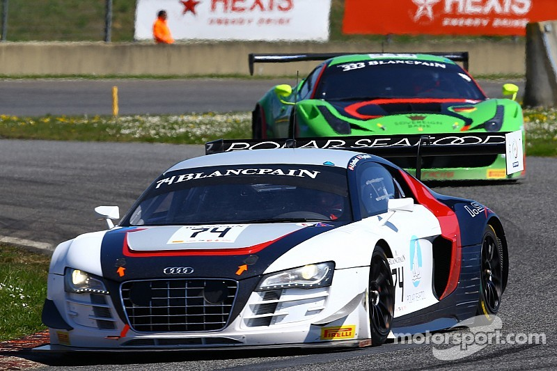 Blancpain debut for Fjordbach in Nogaro