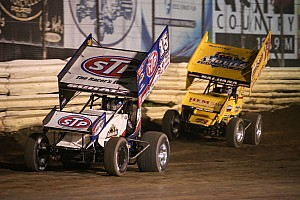 World of Outlaws Race report Donny Schatz scores his fourth win of the season at Placerville Speedway