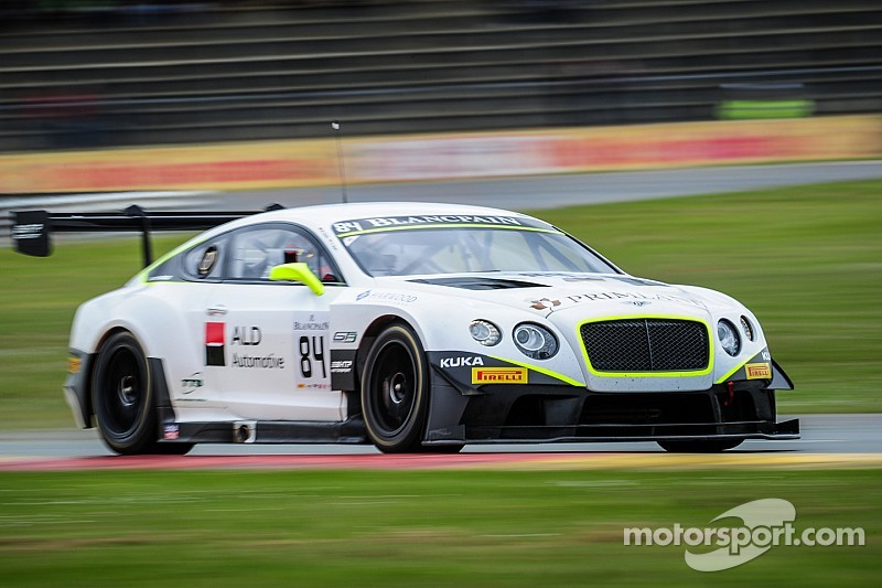 High speed challenge for Bentley Team HTP