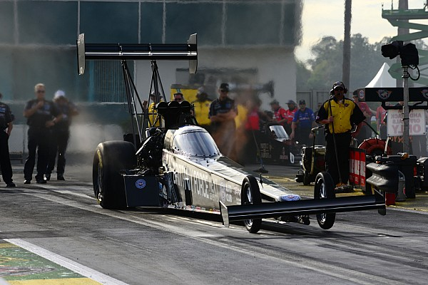 John Force Racing drivers fast at The Strip