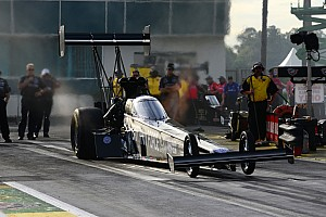 NHRA Qualifying report John Force Racing drivers fast at The Strip