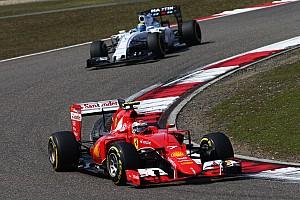 Formula 1 Race report Ferrari's Vettel scores the third podium in a row