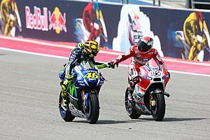 MotoGP Résumé de course Valentino Rossi : un premier podium à Austin, c'est déjà ça