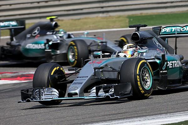 Hamilton reproche à Rosberg de ne rien avoir tenté à Shanghai