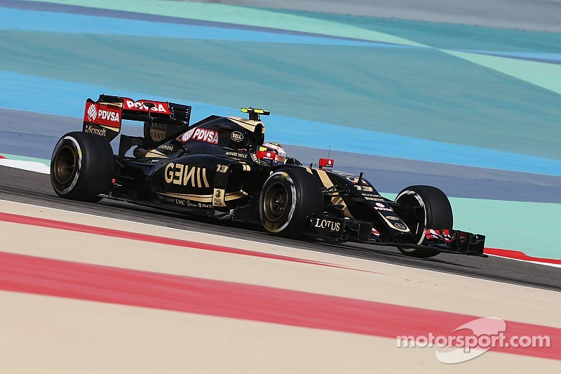 Lotus enjoys a strong first day of running at the Bahrain International Circuit