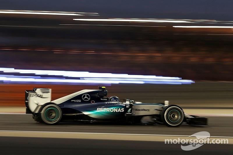 """Rosberg n'a """"pas assez attaqué"""""""