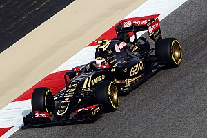 Formula 1 Qualifying report Mixed emotions for Lotus in qualifying for tomorrow's Bahrain GP