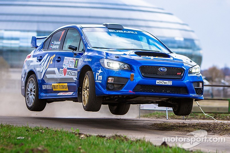 Лукьянюк выиграл Rally Masters Show