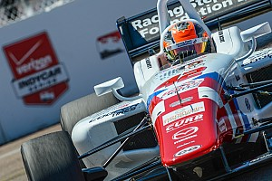 Indy Lights Qualifying report Harvey takes Long Beach Indy Lights pole