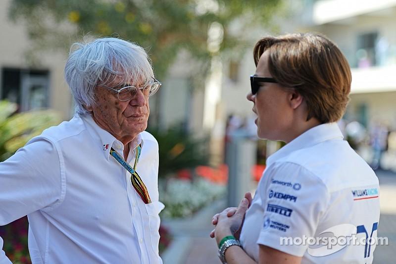 """F1 should evaluate """"every idea"""" - Williams"""