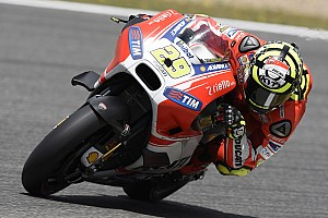 MotoGP Qualifying report Front row start for Andrea Iannone in Spanish GP