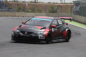 WTCC Race report Honda Civic WTCC wins in Hungary