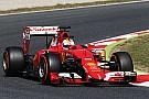 Vettel s'est intercalé entre les Mercedes