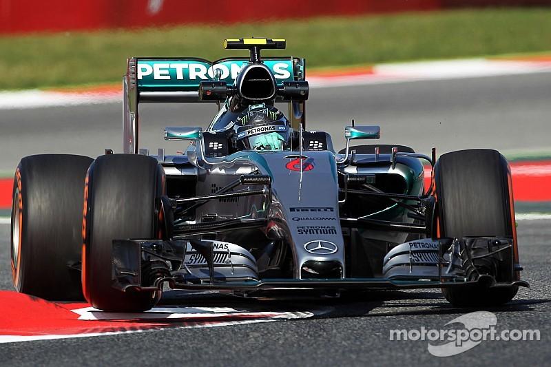 Qualifications - Première pole position en 2015 pour Rosberg !