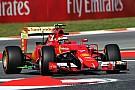 Manque d'adhérence pour Räikkönen en Espagne