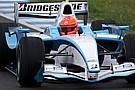 La pioggia rallenta i test di Schumi a Jerez
