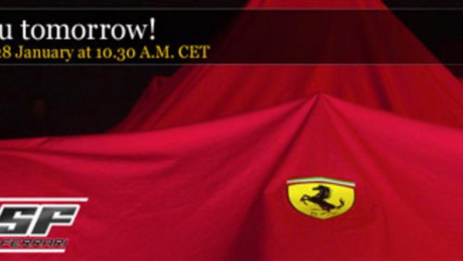Ferrari: la monoposto 2010 in diretta su Ferrari.com