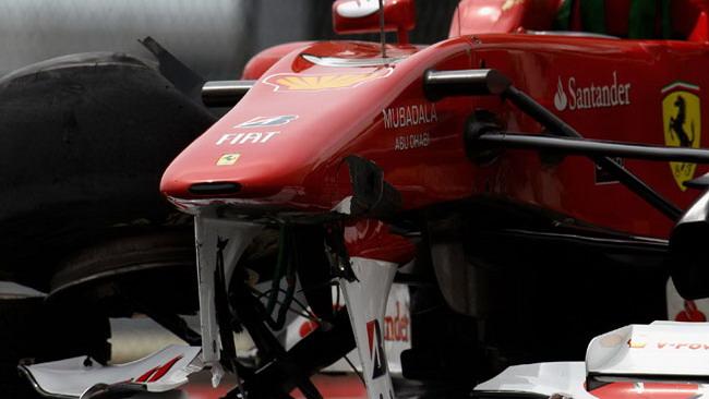Il telaio 283 di Alonso mai più in gara