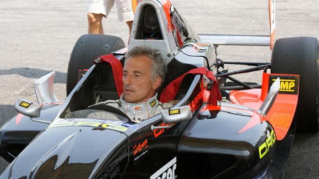 Patrese ha provato la Tatuus della CO2 Motorsport